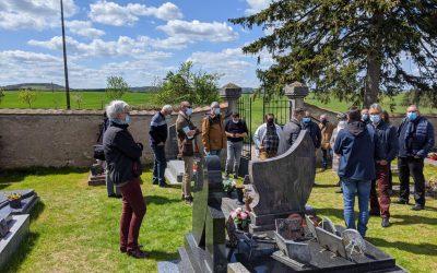 Vendredi 7 Mai : visite du cimetière